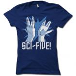 Sci-Five Ladies T-Shirt