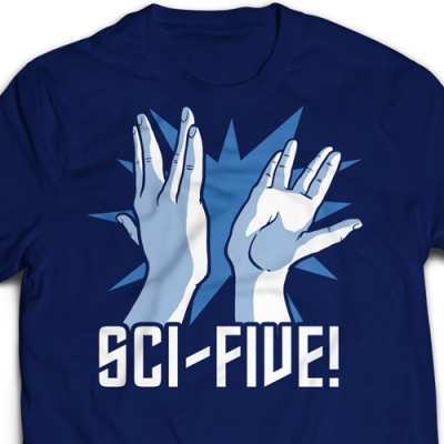 Sci-Five Ladies T-Shirt
