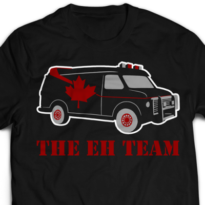 The Eh Team Ladies T-Shirt