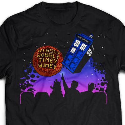 Wibbly Wobbly Time Wimey Ladies T-Shirt