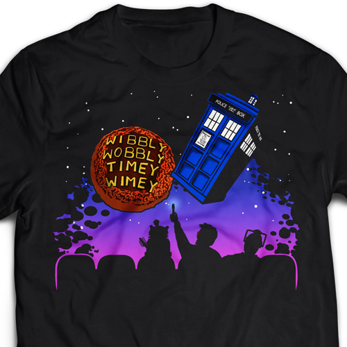 Wibbly Wobbly Time Wimey T-Shirt