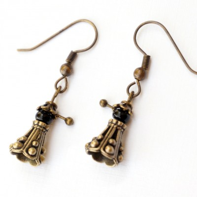dalek earrings 2