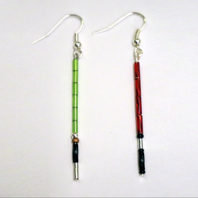 lightsaber earrings 6