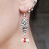 owl post earrings 3