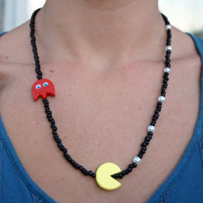 pacman necklace 1