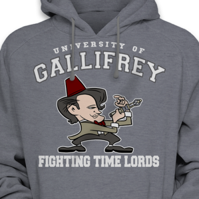 Fighting Time Lords Hoodie