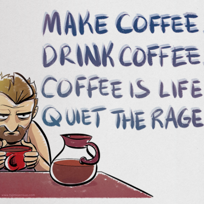 Coffee Is Life Print