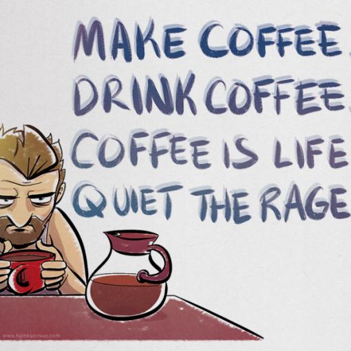 Coffee Is Life Print