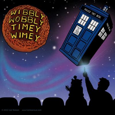 Wibbly Wobbly Timey Wimey Print