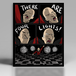 There Are Four Lights Print