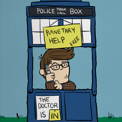 The Doctor Is In Print