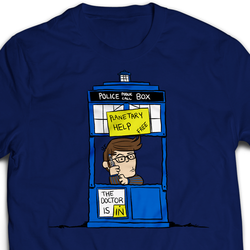 ff84093df The Doctor Is In T-Shirt – The HijiNKS ENSUE Store