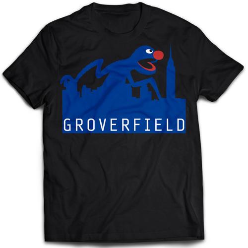 Grover Face T-Shirt - YouTube